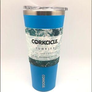 Corkcicle 24oz Waterman Hawaiian Blue Tumbler